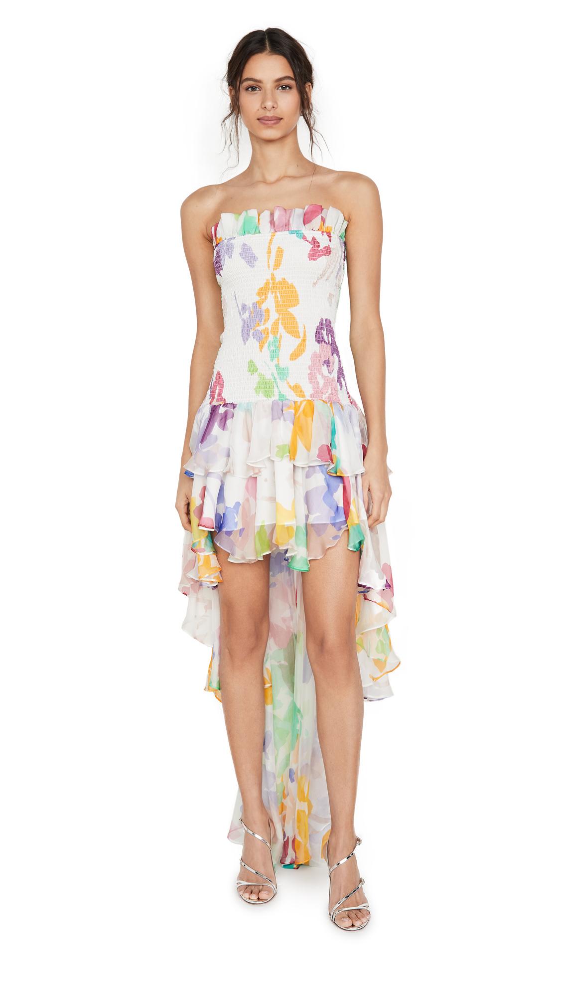 Buy Caroline Constas online - photo of Caroline Constas Lola Smocked Dress