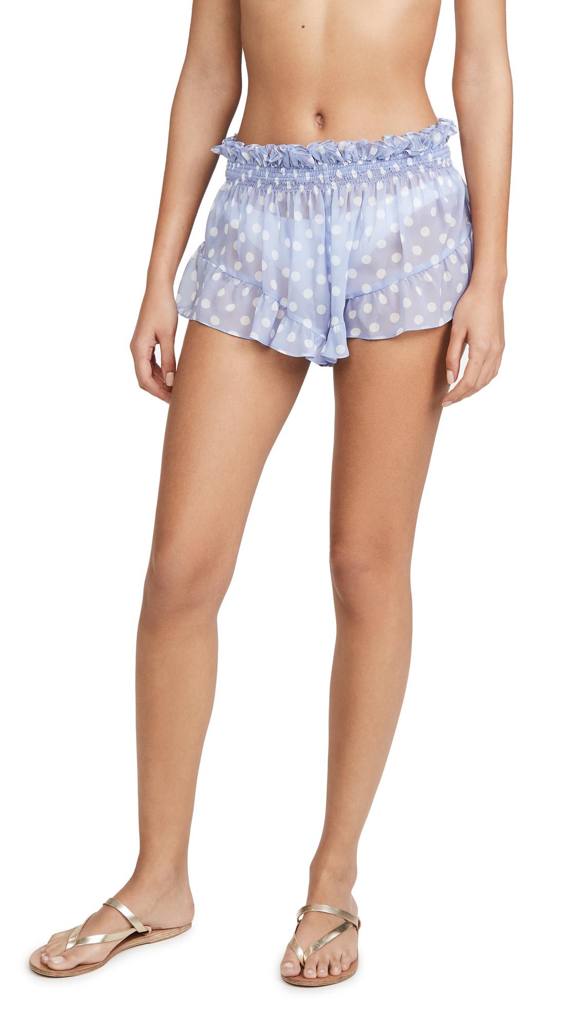 Buy Caroline Constas online - photo of Caroline Constas Ruffle Shorts