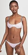 Caroline Constas Mykela Bikini Top