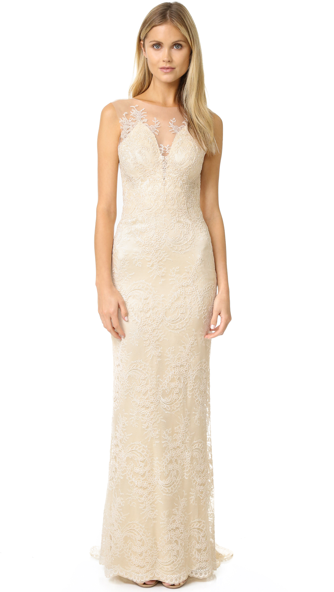 Catherine Deane Yasmin Dress - Bridal Cream