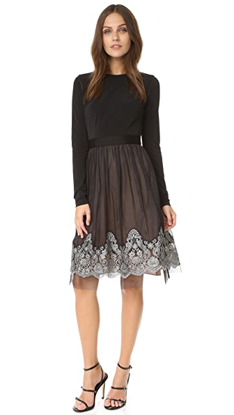 Catherine Deane Grady Long Sleeve Dress