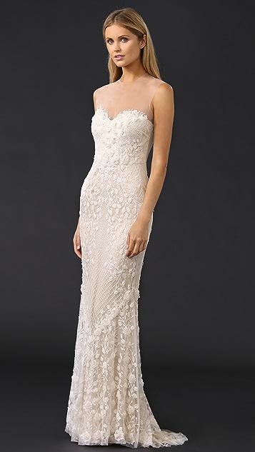 Catherine Deane Ashton Embellished Tulle Gown
