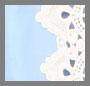 Cream/Bluebell