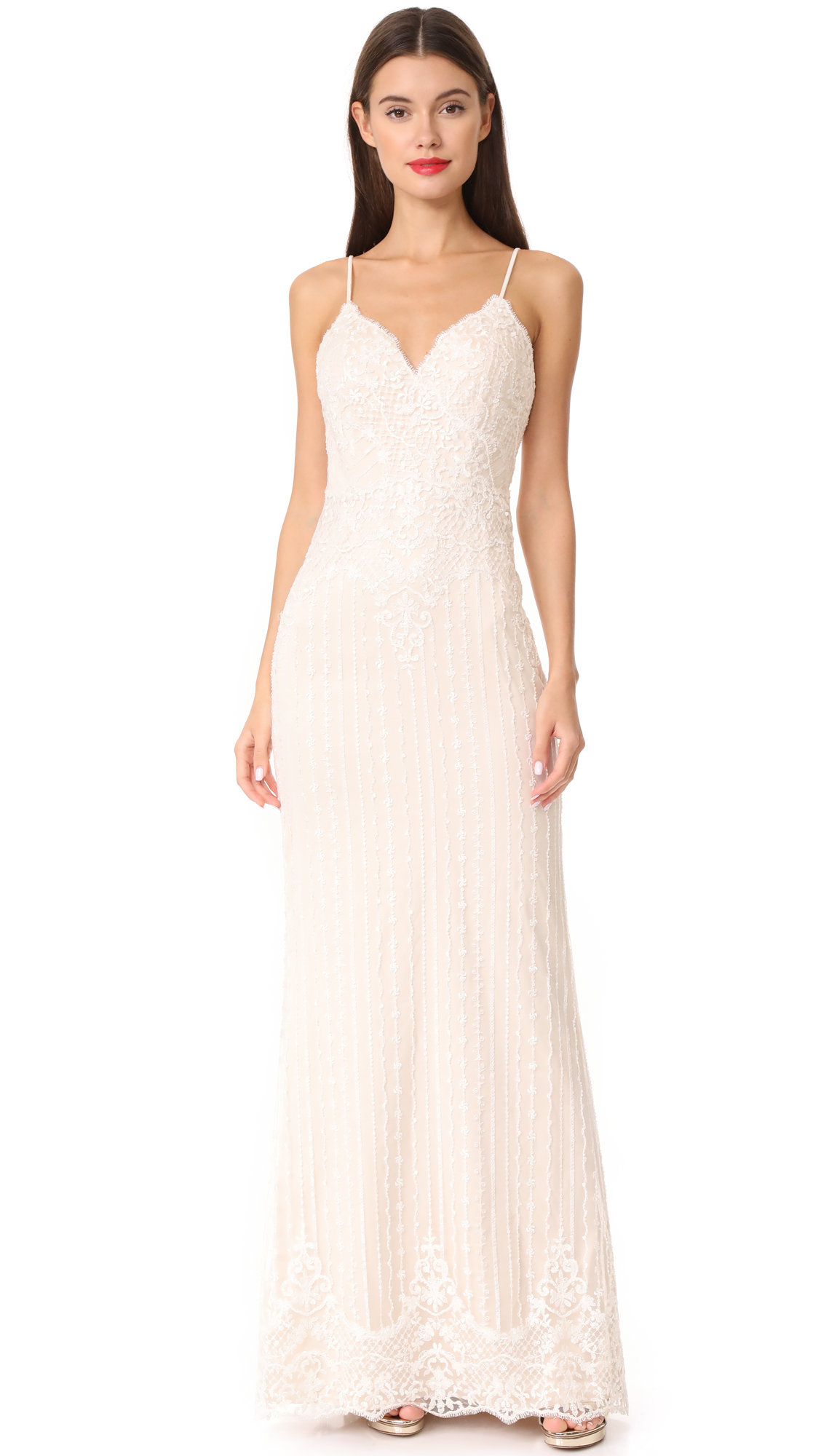Catherine Deane Janie Gown - Ivory/Champagne