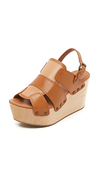 Derek Lam 10 Crosby Heath Clogs - Toffee