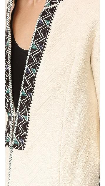Derek Lam 10 Crosby Embroidered Short Coat