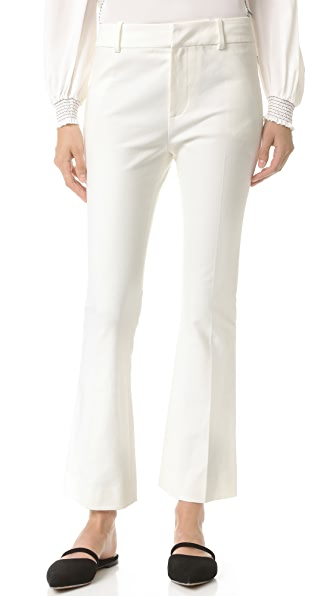 Derek Lam 10 Crosby Cropped Flare Trousers