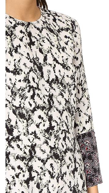 Derek Lam 10 Crosby Split Sleeve Dress