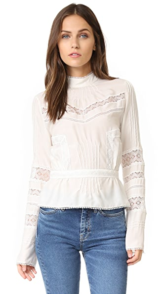 Derek Lam 10 Crosby Long Sleeve Blouse
