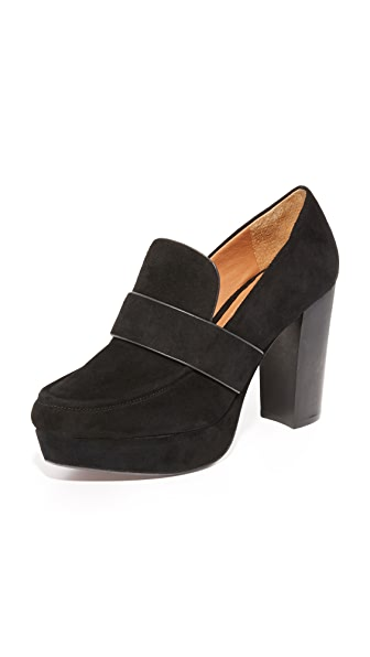 Derek Lam 10 Crosby Sienna Platform Loafers - Black at Shopbop
