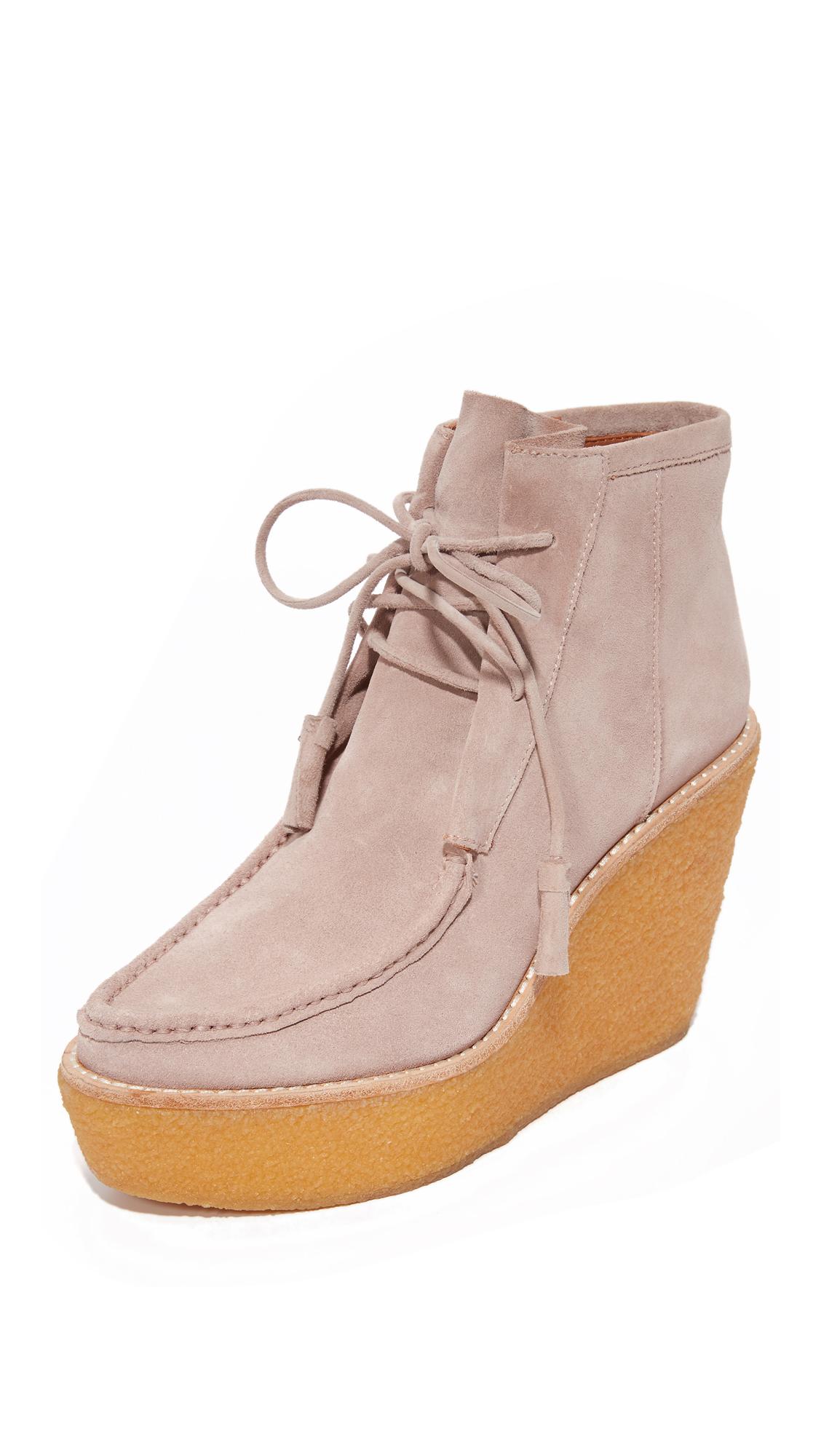 Derek Lam 10 Crosby Sorelle Platform Booties - Lilac at Shopbop