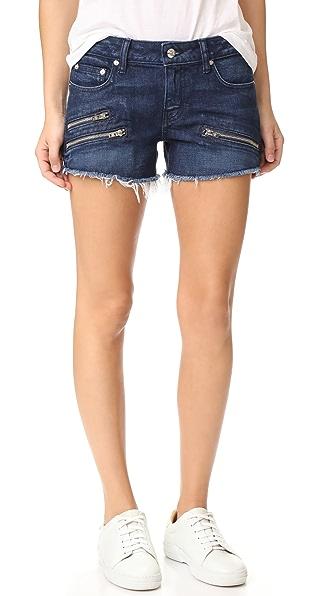 Derek Lam 10 Crosby Quinn Slim Girlfriend Cutoff Shorts
