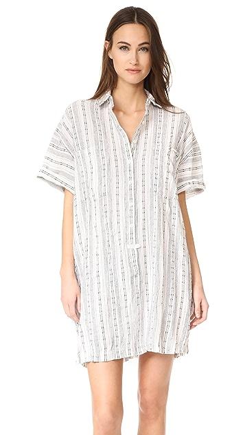 Derek Lam 10 Crosby Short Sleeve Shirtdress