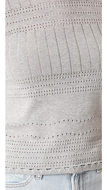 Derek Lam 10 Crosby L/S Crew Neck Sweater