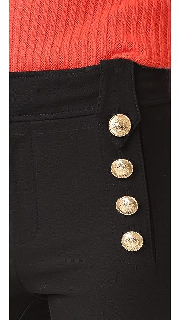Derek Lam 10 Crosby Cropped Sailor Trousers