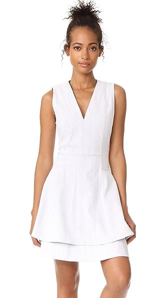 Derek Lam 10 Crosby Fit & Flare Dress