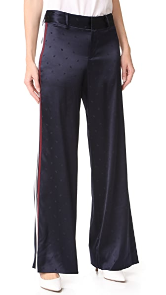 Derek Lam 10 Crosby Wide Leg Pajama Pants