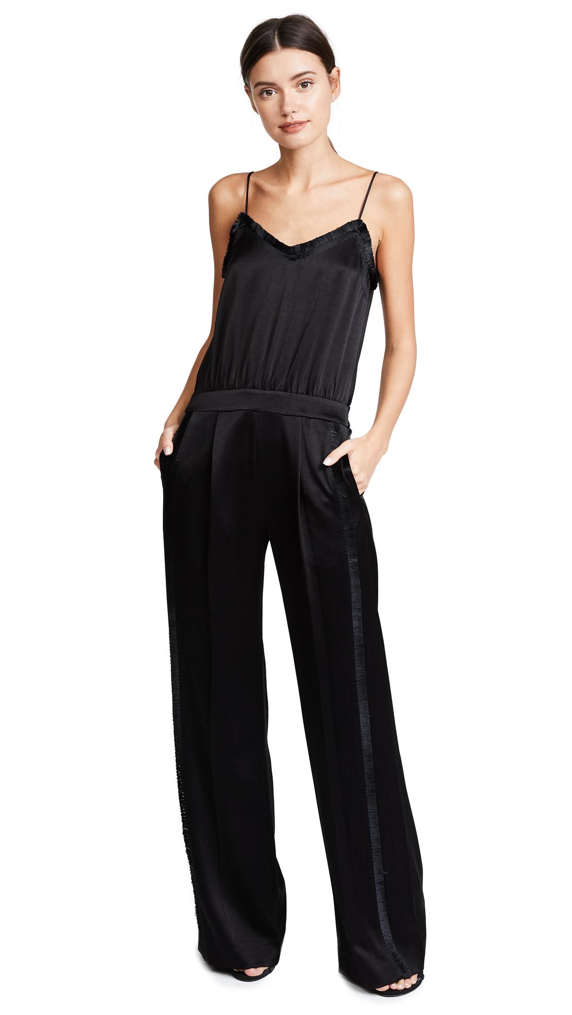 Derek Lam 10 Crosby Cami Jumpsuit - Black