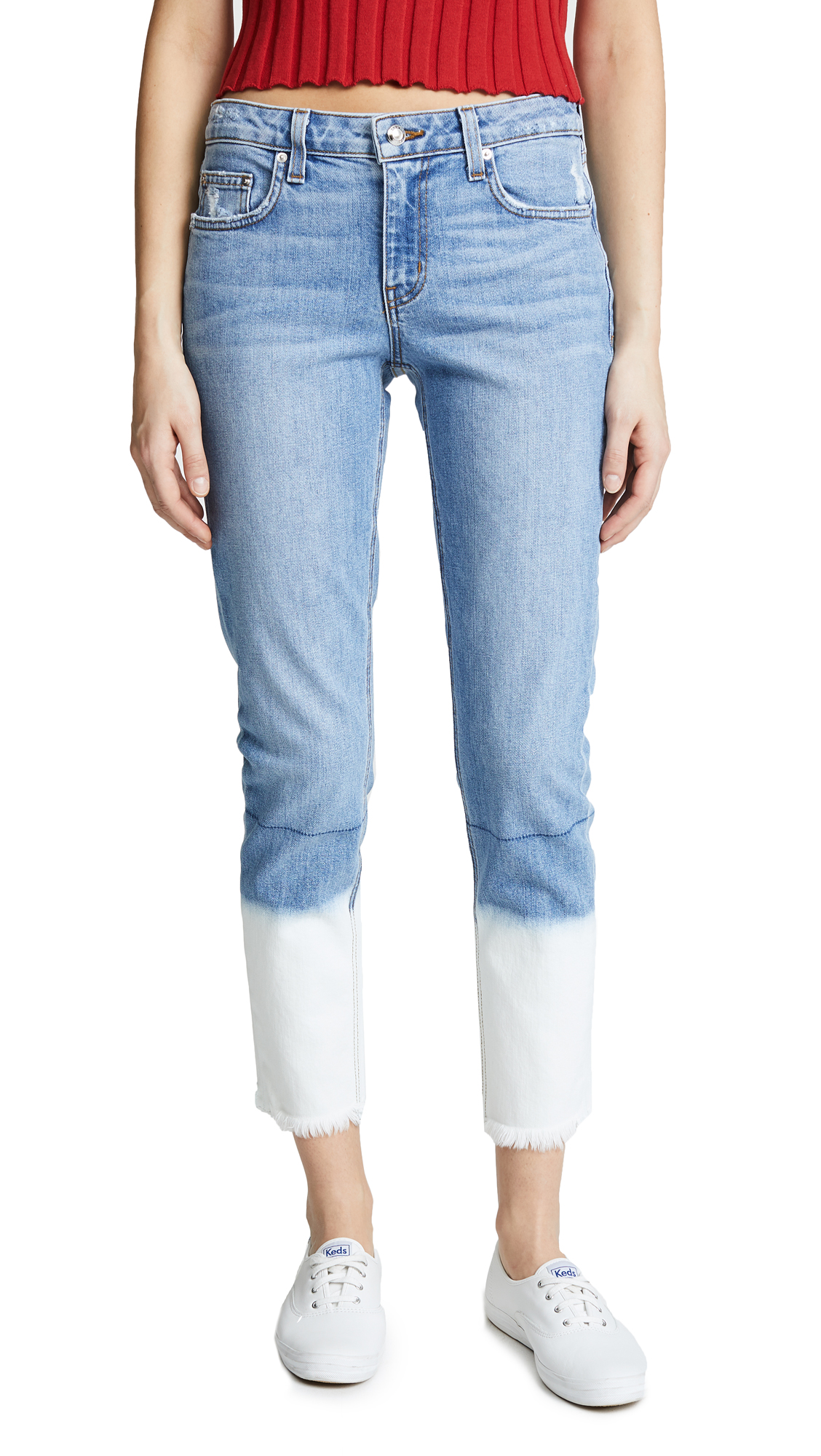 Derek Lam 10 Crosby Mila Girlfriend Jeans