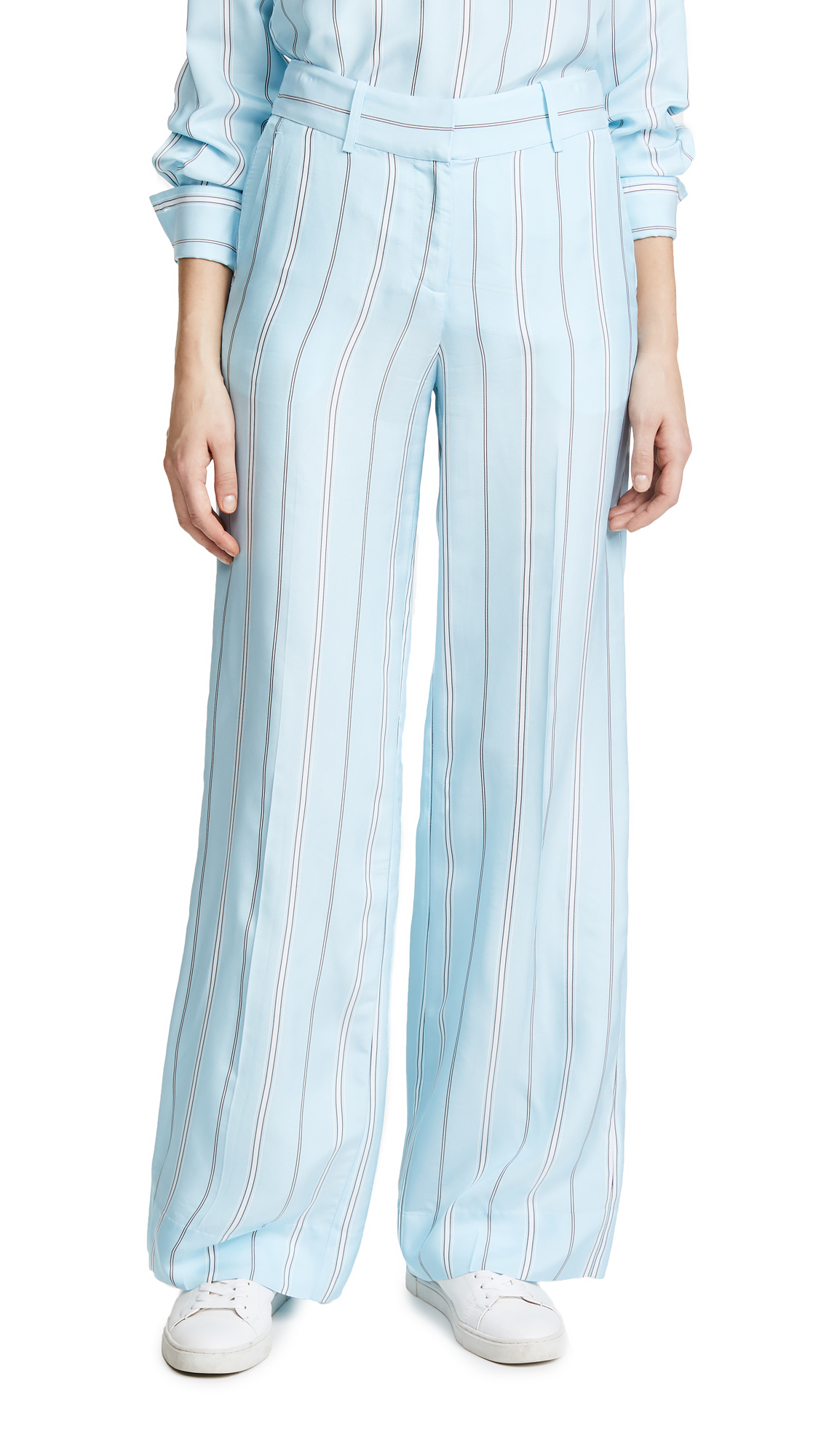 Derek Lam 10 Crosby Striped Pants