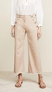 Derek Lam 10 Crosby Slim Culotte Pants