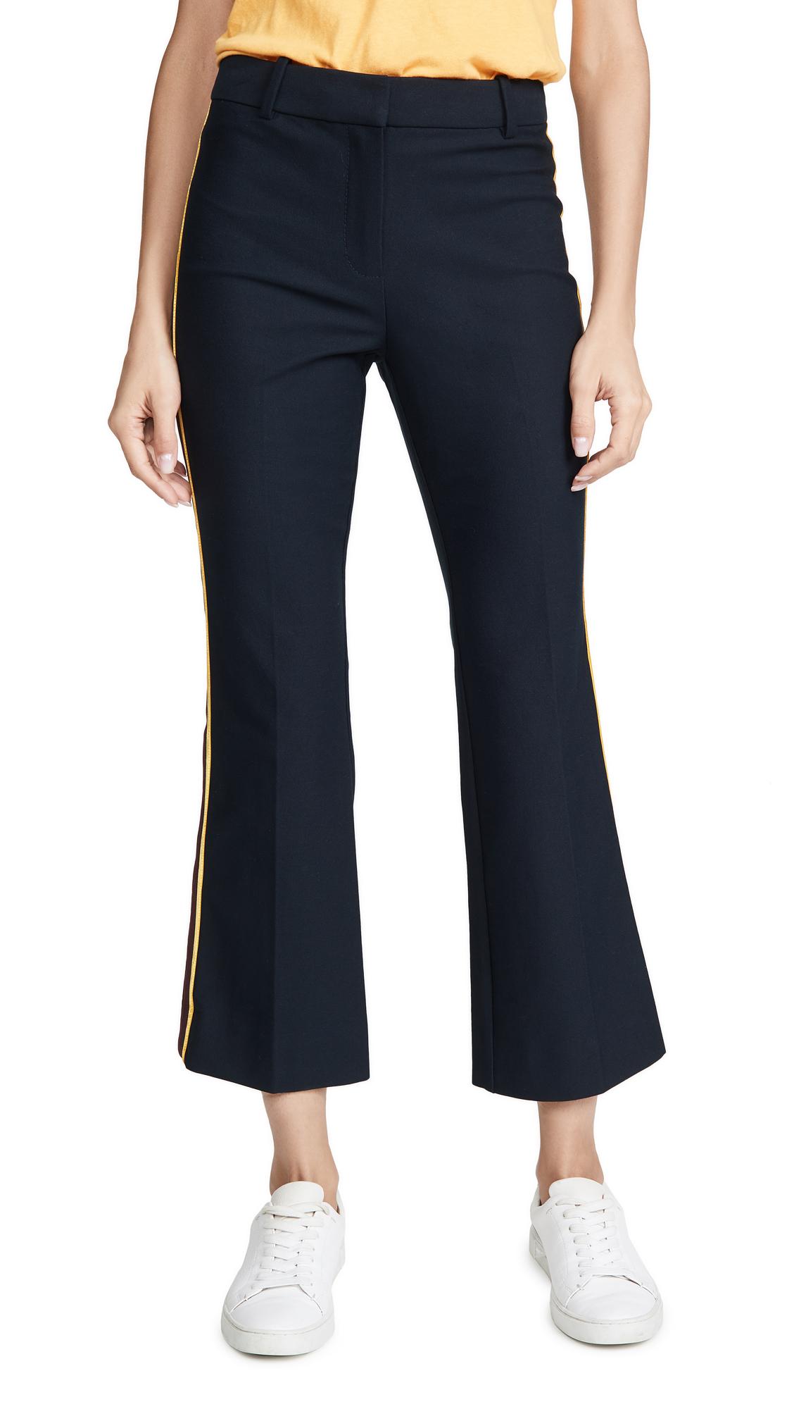 Buy Derek Lam 10 Crosby online - photo of Derek Lam 10 Crosby Cropped Flare Trousers