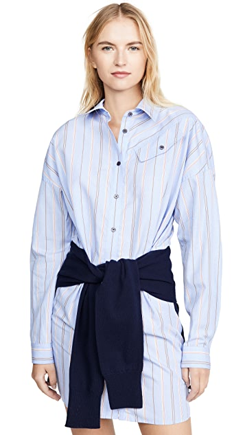 Derek Lam 10 Crosby Button Down Shirtdress