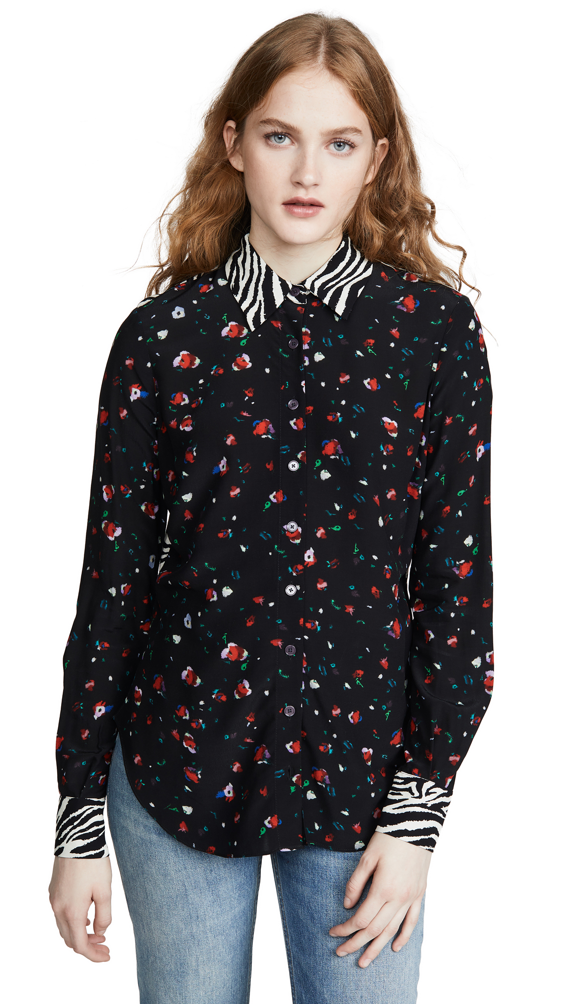 Buy Derek Lam 10 Crosby online - photo of Derek Lam 10 Crosby Kosma Slim Button Down Shirt