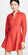 Derek Lam 10 Crosby Petra Wrap Shirtdress