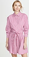 Derek Lam 10 Crosby Iona Belted Shirt Dress
