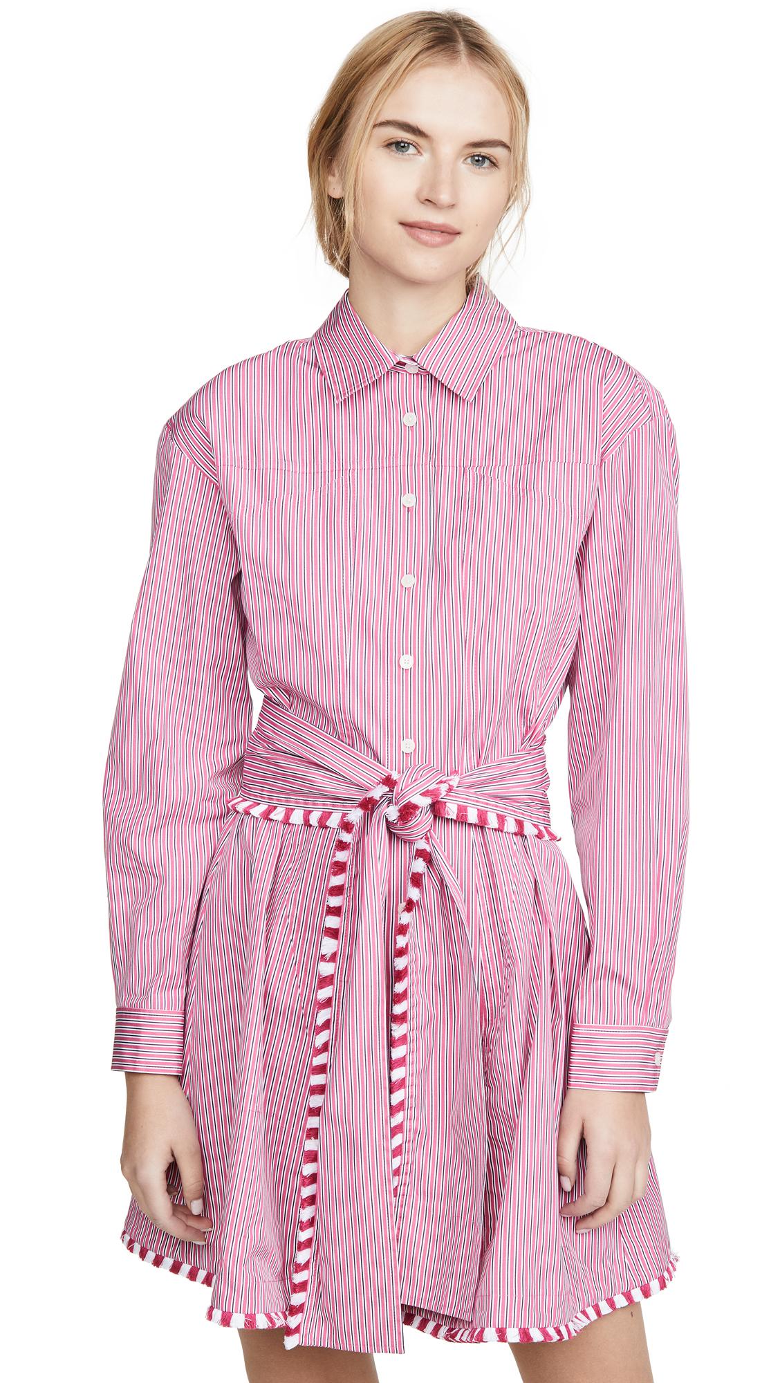 Derek Lam 10 Crosby Iona Belted Shirt Dress - 30% Off Sale