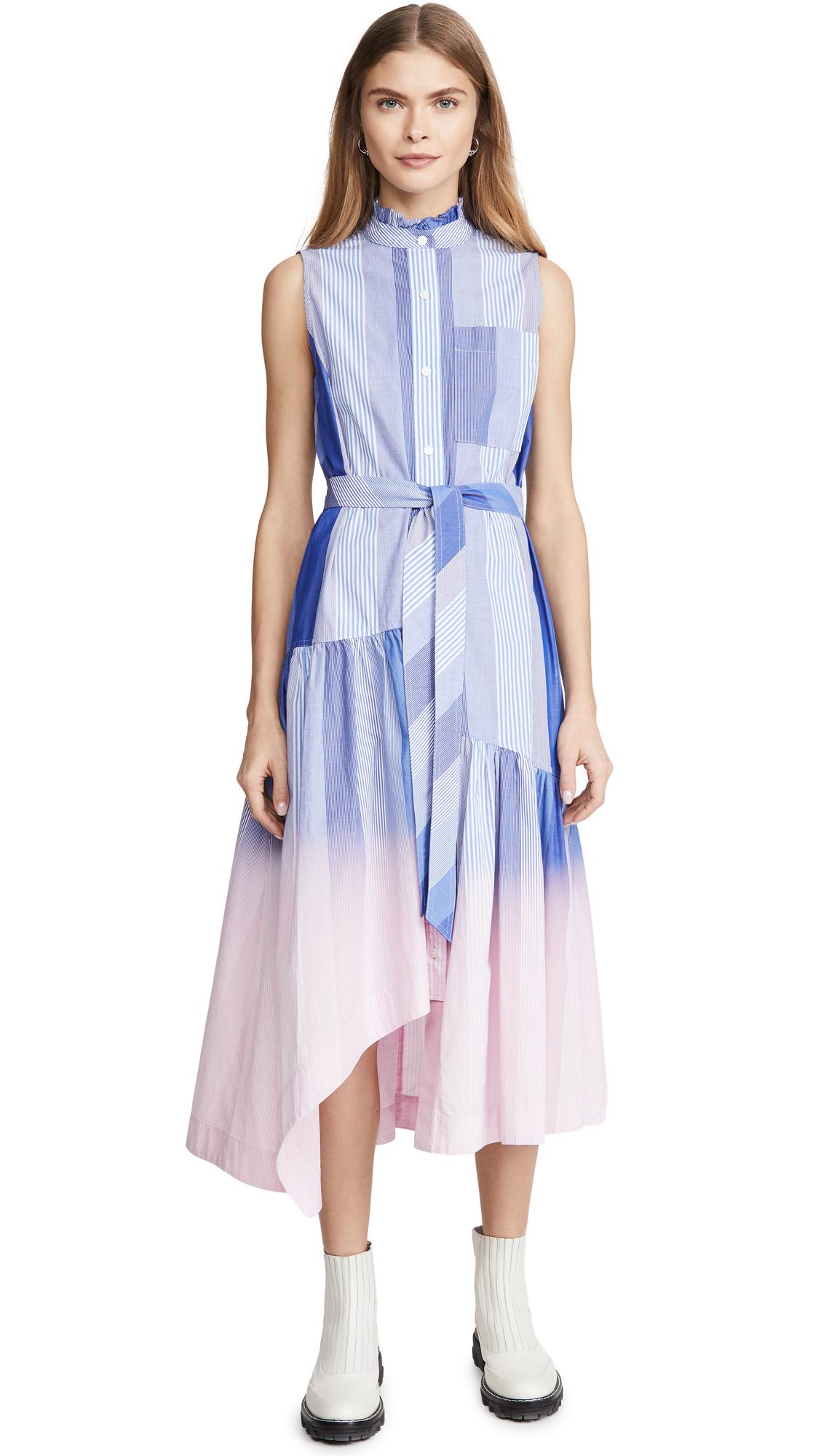 Derek Lam 10 Crosby Nerioa Dip Die Maxi Dress - 30% Off Sale
