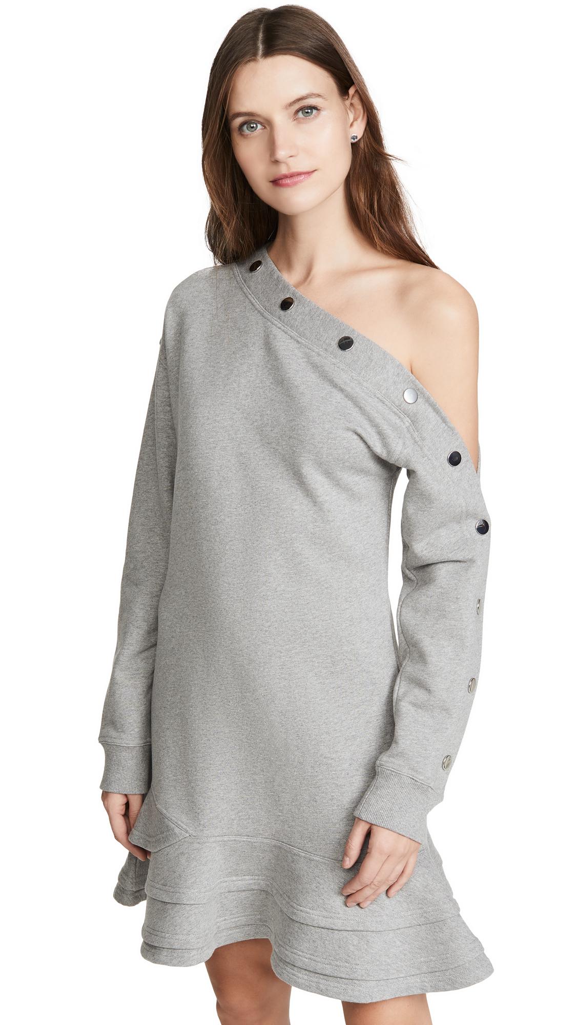 Derek Lam 10 Crosby Cressida Sweatshirt Dress - 50% Off Sale