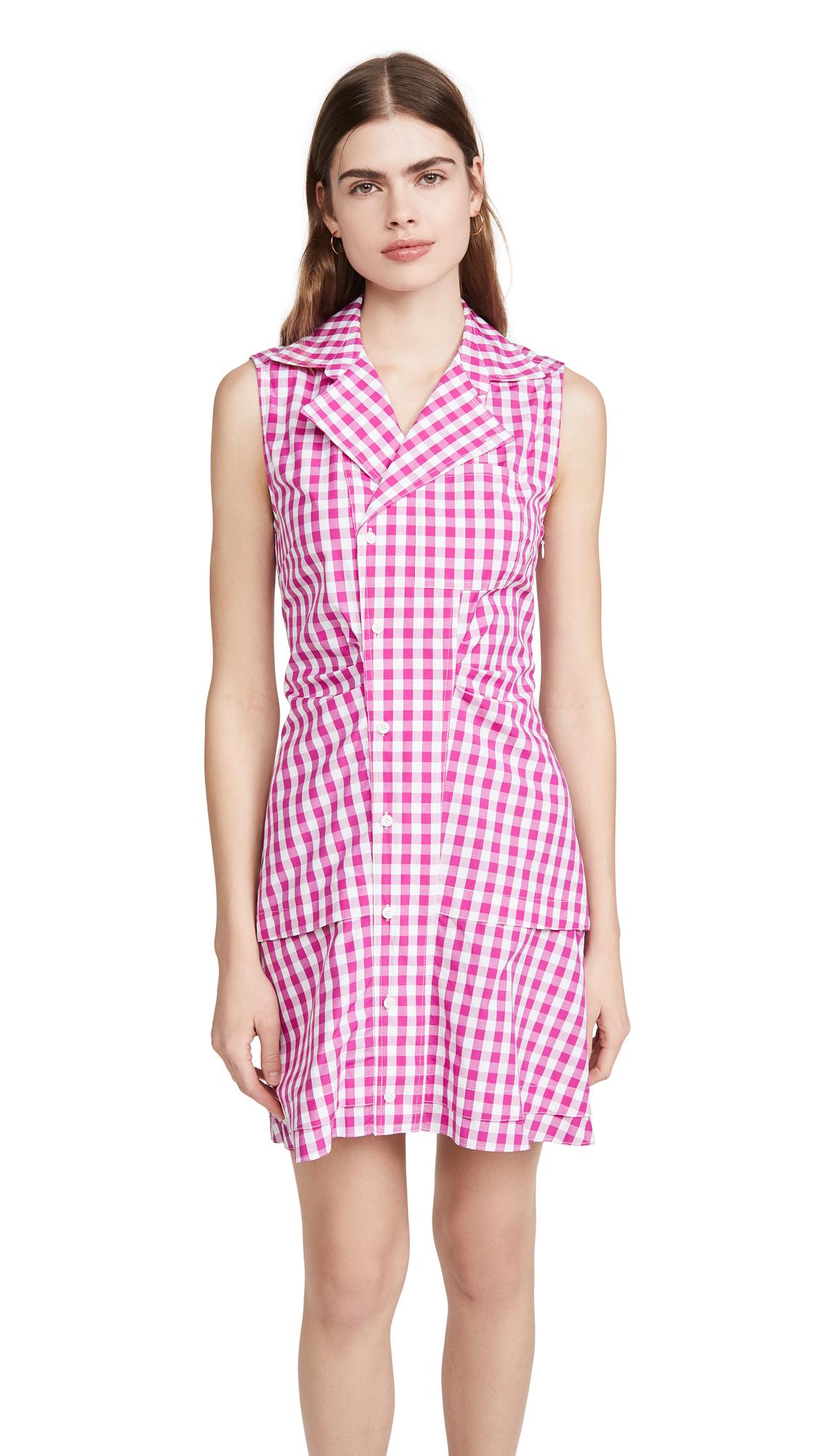 Derek Lam 10 Crosby Satina Sleeveless Shirt Dress - 30% Off Sale
