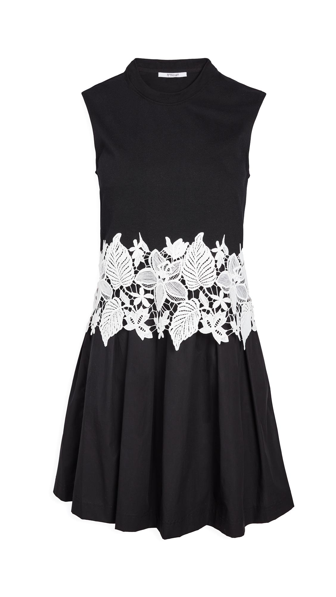 Photo of Derek Lam 10 Crosby Lea Sleeveless 2-in-1 Dress - shop Derek Lam 10 Crosby Clothing, Dresses online