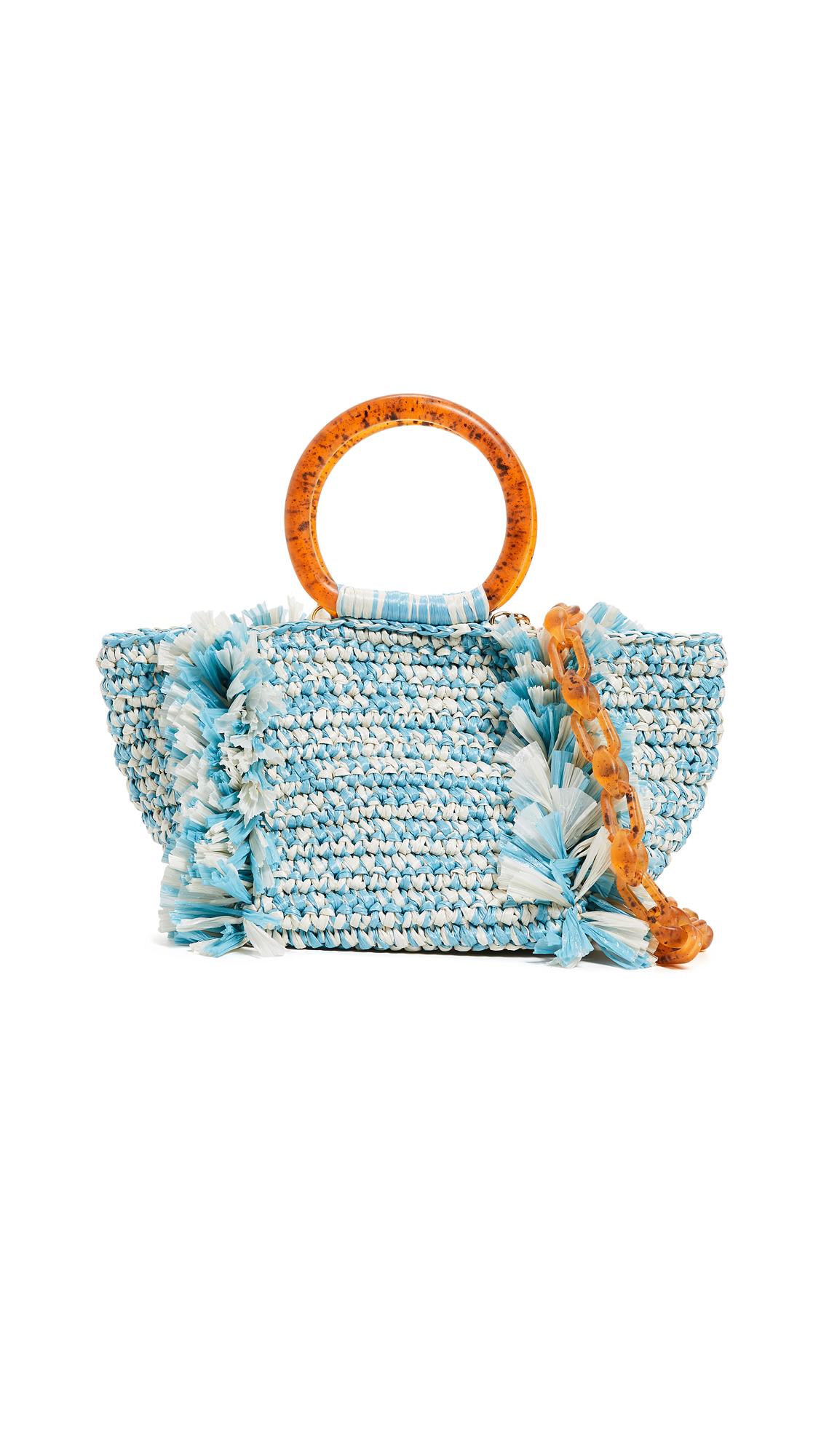 Carolina Santo Domingo Corallina Santo Domingo Ring Tote - Bi Color Blue
