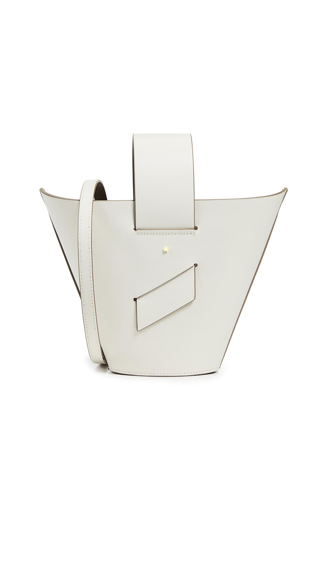 Carolina Santo Domingo Amphora Adjustable Crossbody Bag - Off White