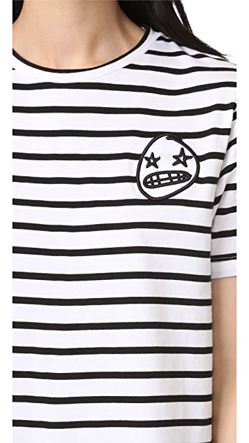 Etre Cecile Starry Eye Badge T-Shirt