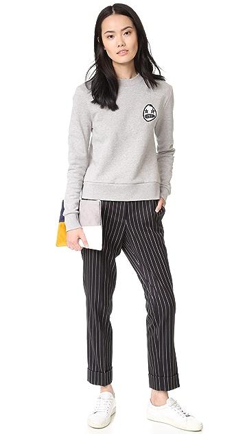 Etre Cecile Starry Eye Badge Sweatshirt