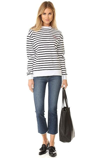Etre Cecile Presque Parisienne Boyfriend Sweatshirt