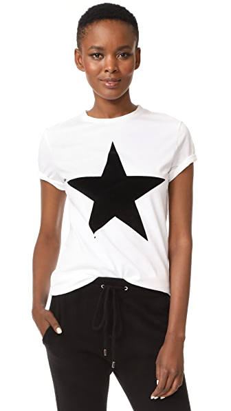 Etre Cecile Star Tee In White