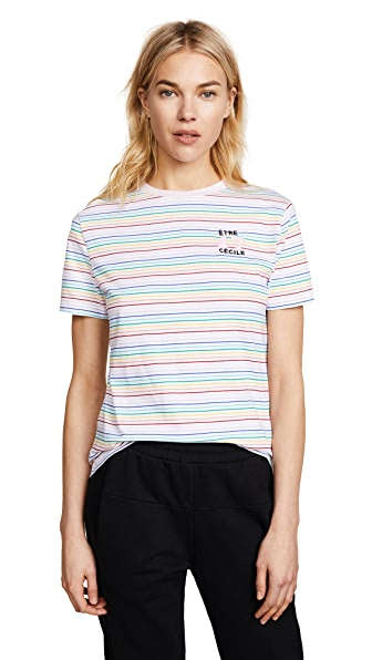 Etre Cecile BE OF GOOD HEART T-SHIRT