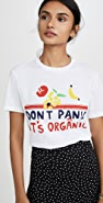 Etre Cecile Don't Panic It's Organic T 恤