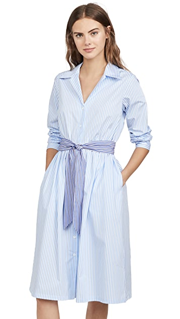 Etre Cecile Stripe Lauren Shirt Dress