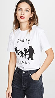 Etre Cecile Футболка с принтом «Party Animals»