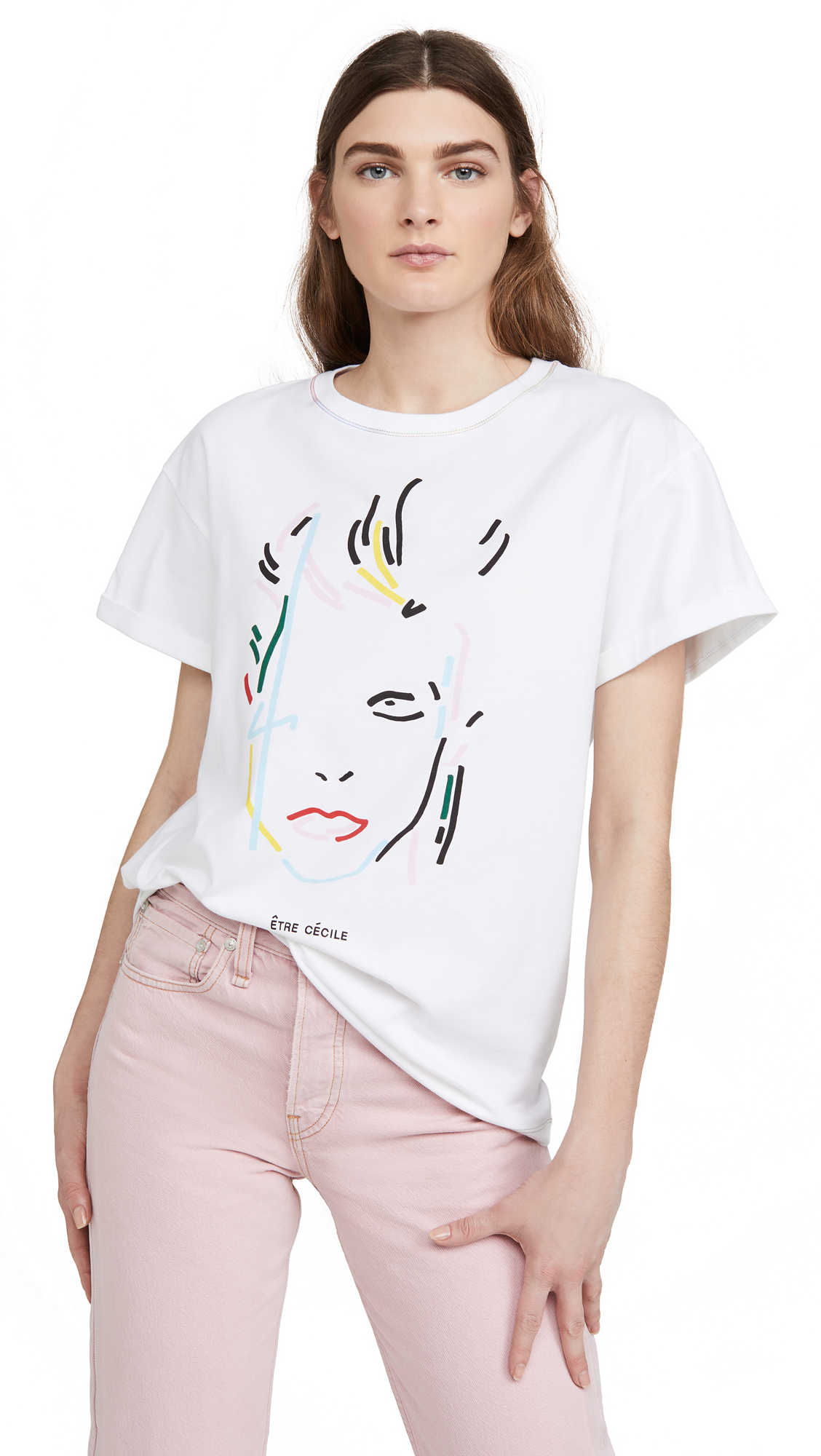 Buy Etre Cecile online - photo of Etre Cecile Rainbowie Tee