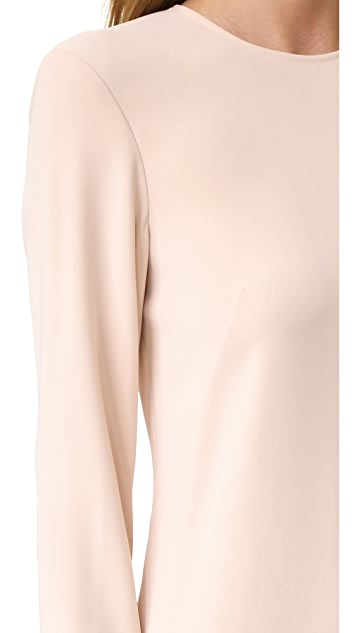 Cedric Charlier Long Sleeve Gown