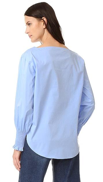 Cedric Charlier Long Sleeve Blouse