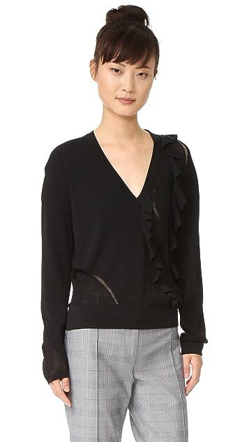 Cedric Charlier Long Sleeve Sweater