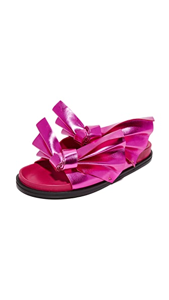 CEDRIC CHARLIER Flat Slides at Shopbop